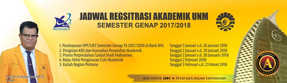 Jadwal Registrasi Akademik